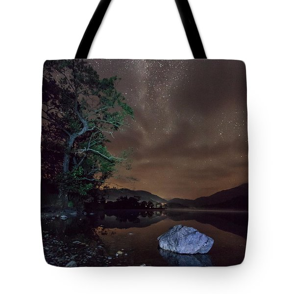 Milky Way At Gwenant Tote Bag