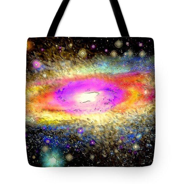 Milky Way Tote Bag by Daniel Janda