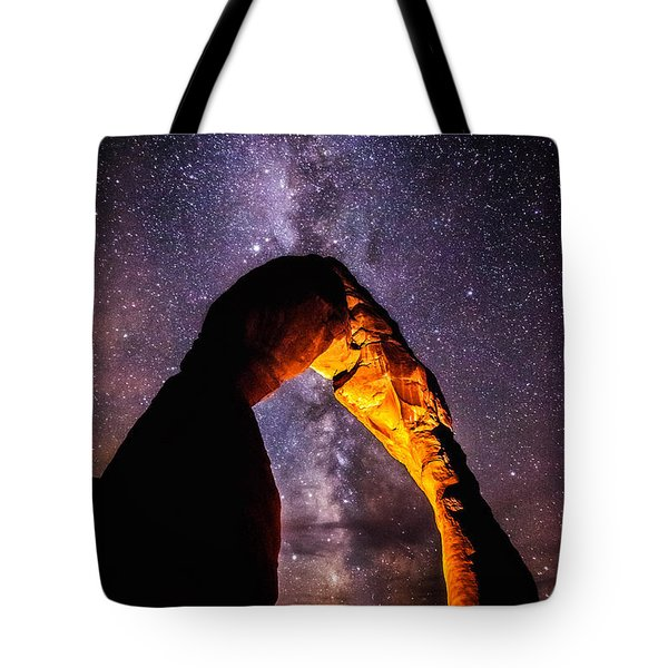 Milky Way Explorer Tote Bag