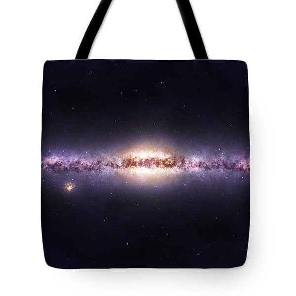 Milky Way Galaxy Tote Bag by Celestial Images