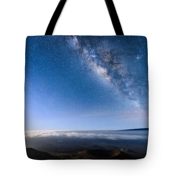 Milky Way Suspended Above Mauna Loa 2 Tote Bag