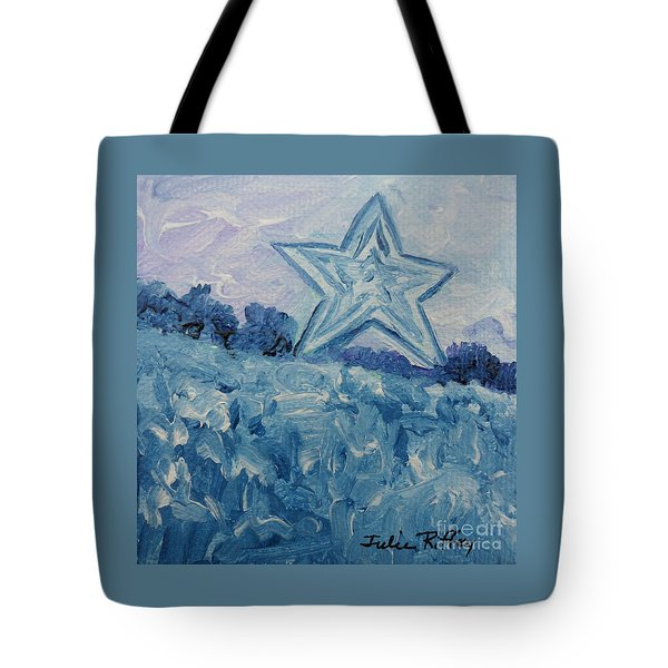 Mill Mountain Star Tote Bag