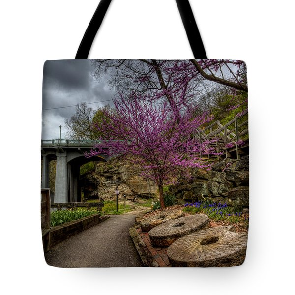 Mill Stones Tote Bag