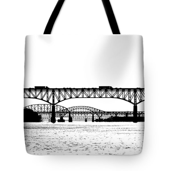 Millard Tydings Memorial Bridge Tote Bag