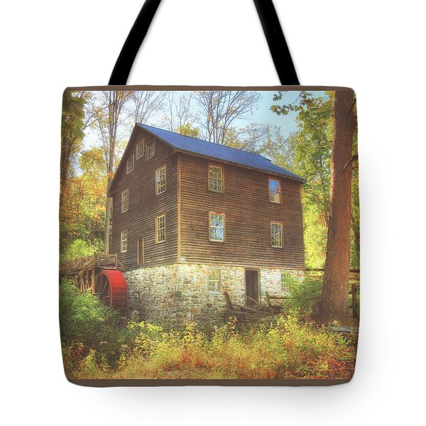Millbrook Grist Mill  Tote Bag