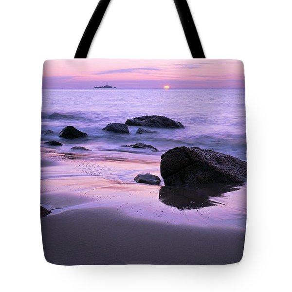 Millennium Sunrise Singing Beach Tote Bag