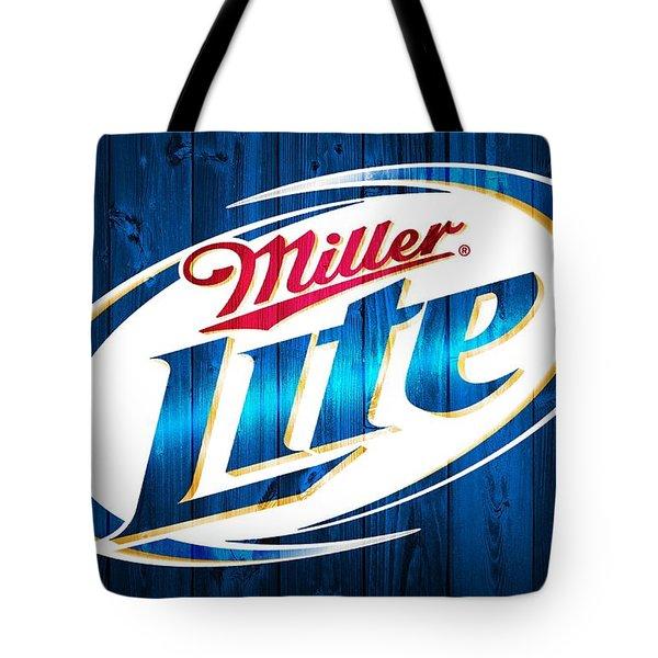 Miller Lite Barn Door Tote Bag