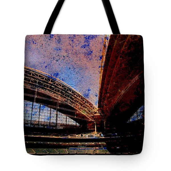 Miller Park 2 W Paint Tote Bag