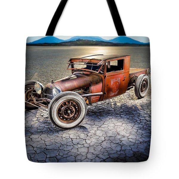 Millers Chop Shop 1929 Model A Truck Tote Bag