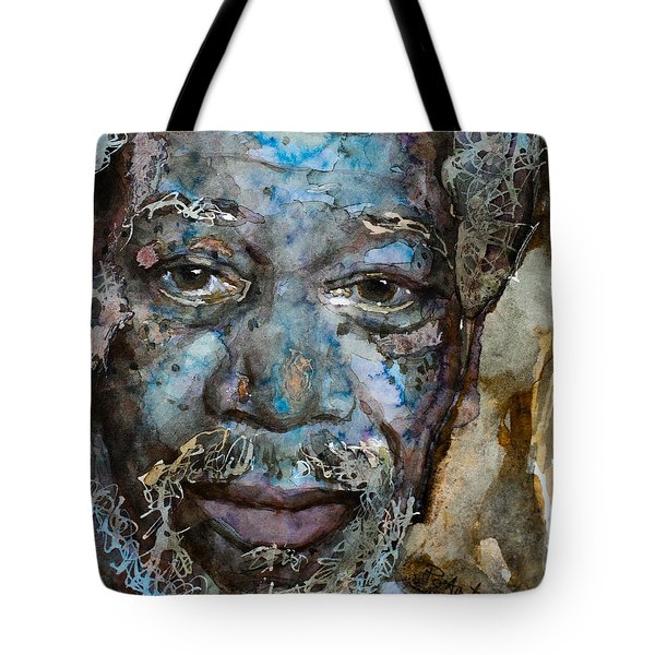 Tote Bag featuring the painting Million Dollar Baby by Laur Iduc