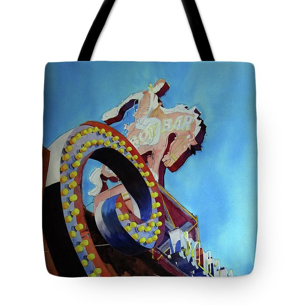 Million Dollar Cowboy Tote Bag by Kris Parins
