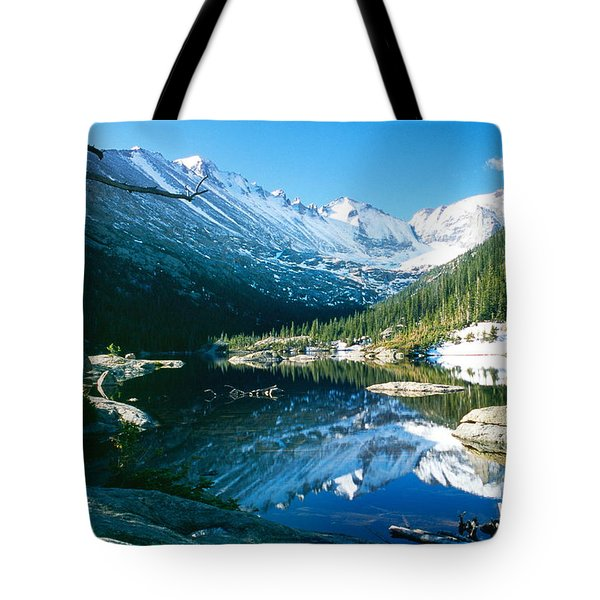 Mills Lake Tote Bag