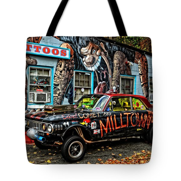 Milltown's Edsel Comet Tote Bag