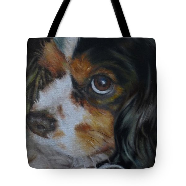 Milo Tote Bag by Cherise Foster