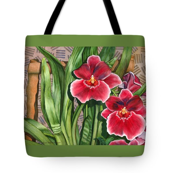Miltonia Orchids Tote Bag