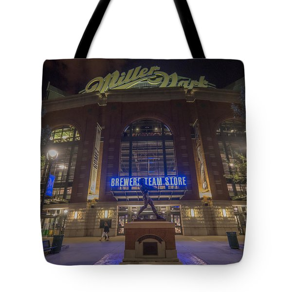 Milwaukee Brewers Miller Park 2 Tote Bag