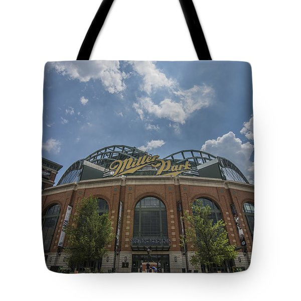 Milwaukee Brewers Miller Park 4 Tote Bag