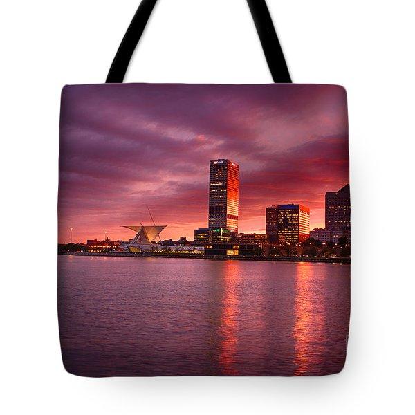 Milwaukee Sunset Tote Bag