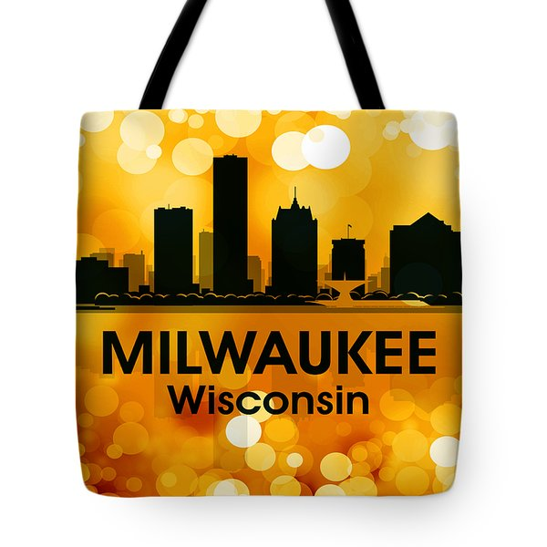 Milwaukee Wi 3 Tote Bag