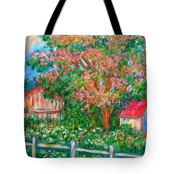 Mimosa View Tote Bag by Kendall Kessler