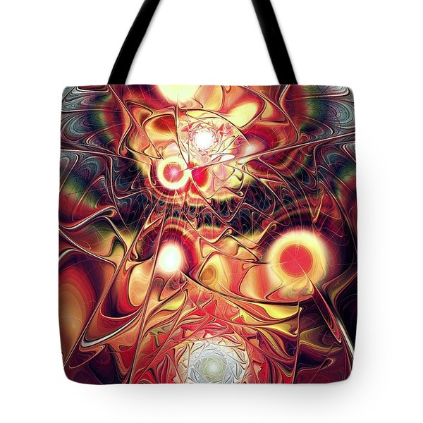 Mind Meld Tote Bag by Anastasiya Malakhova