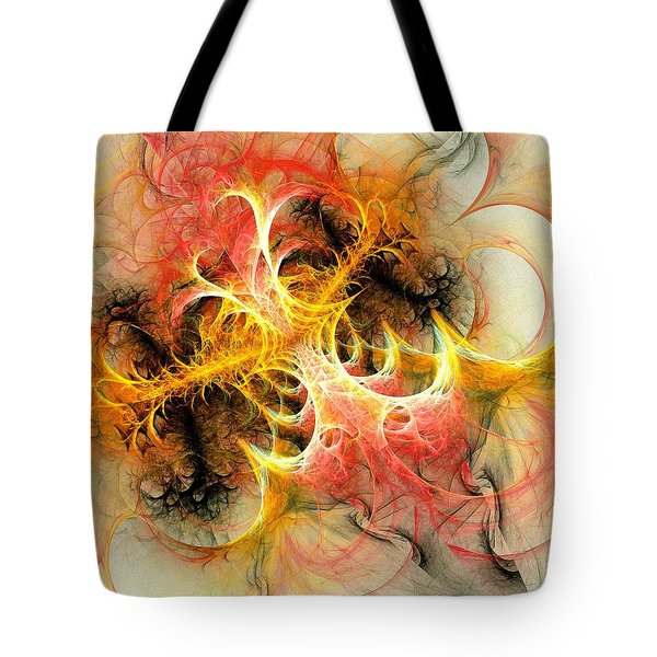 Mind Over Matter Tote Bag by Anastasiya Malakhova
