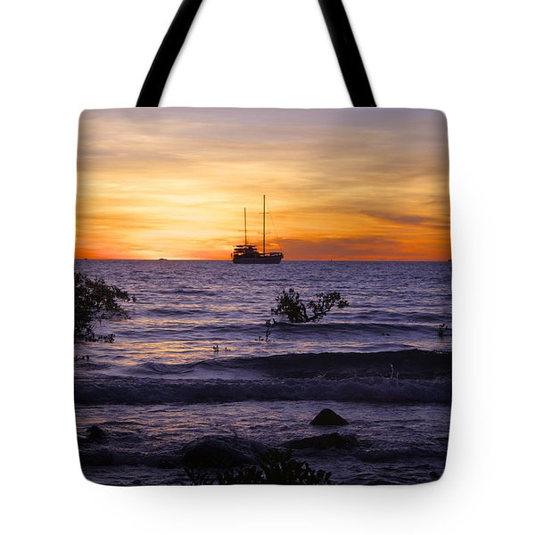 Mindil Beach Sunset Tote Bag by Venetia Featherstone-Witty