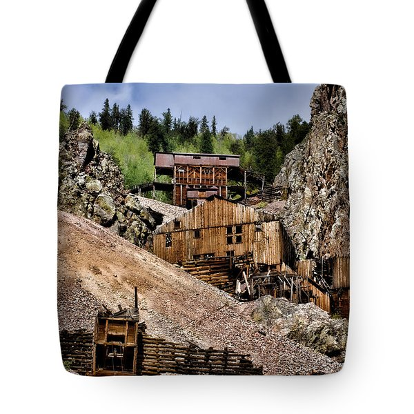 Mine On The Mountain Tote Bag