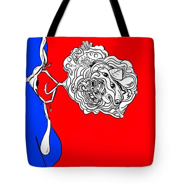 Mineds Eye Tote Bag