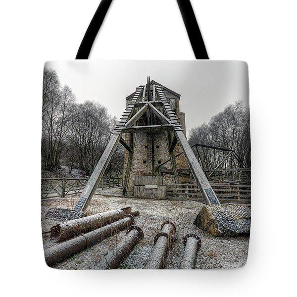 Minera Lead Mines Tote Bag by Adrian Evans