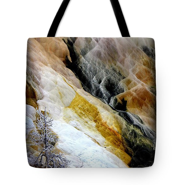 Minerals And Stream Tote Bag