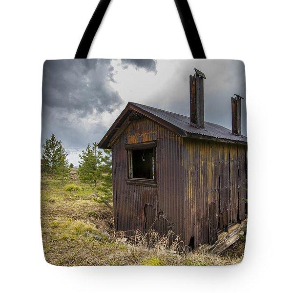 Miners Shack Tote Bag