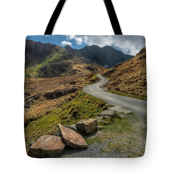 Miners Trial Tote Bag by Adrian Evans