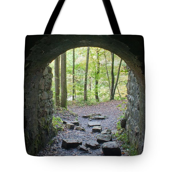 Miners View Tote Bag