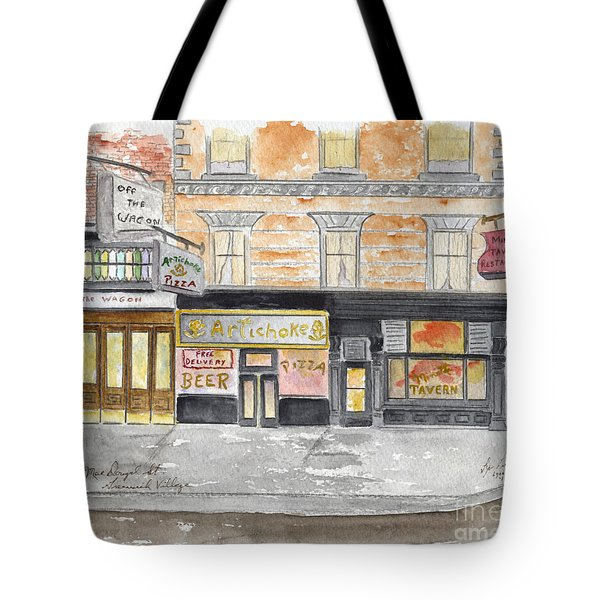Minetta Tavern  Greenwich Village Tote Bag
