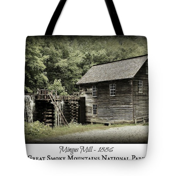 Mingus Mill - Color Poster Tote Bag