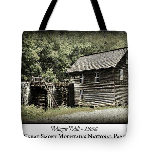 Mingus Mill - Color Poster Tote Bag