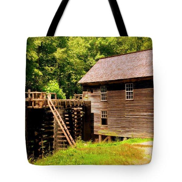 Mingus Mill Tote Bag by Karen Wiles