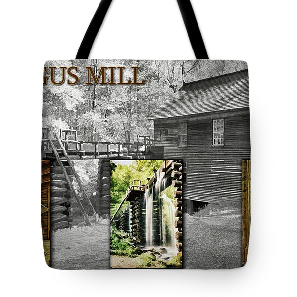 Mingus Mill Montage Tote Bag
