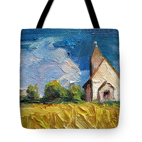 Mini Church Tote Bag
