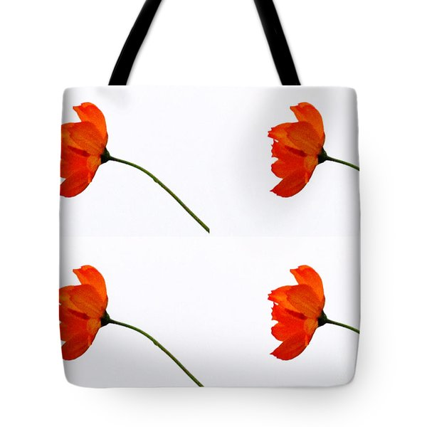 Mini Daisy Four Tote Bag by Tina M Wenger