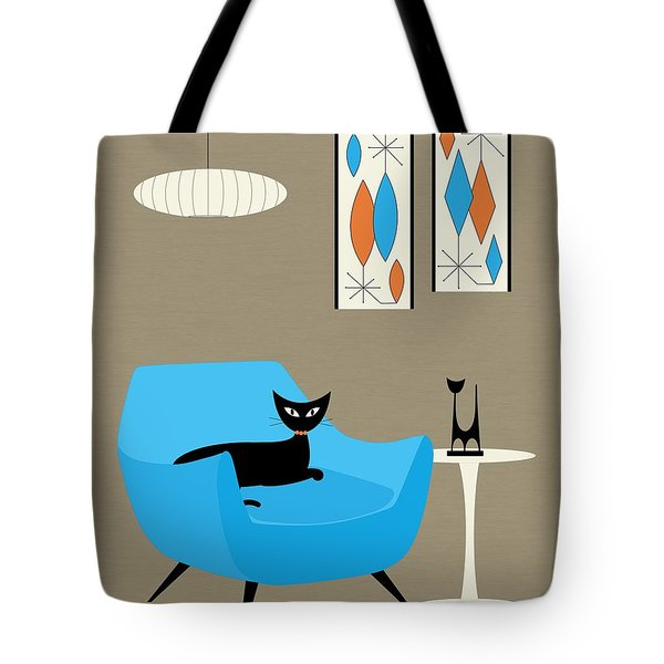 Tote Bag featuring the digital art Mini Gravel Art 6 by Donna Mibus