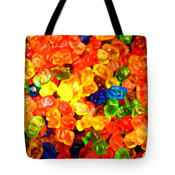 Mini Gummy Bears Tote Bag