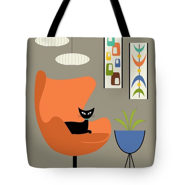 Tote Bag featuring the digital art Mini Oblongs And Mobile by Donna Mibus