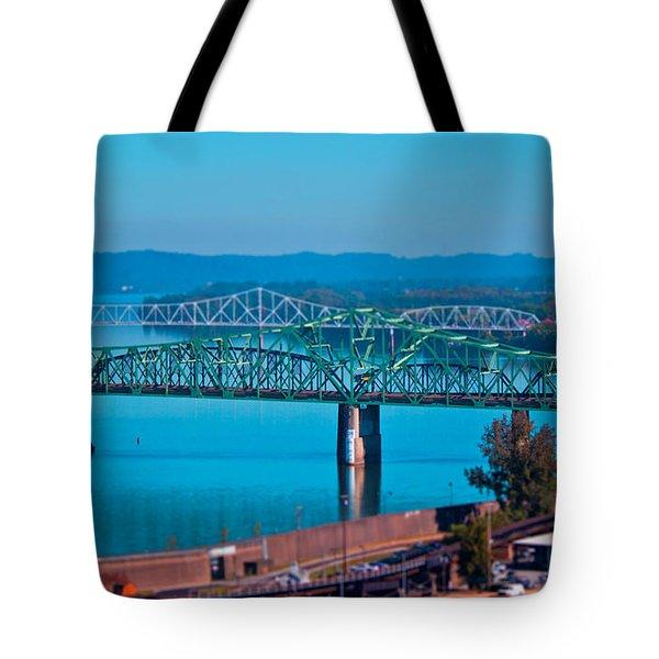 Miniature Bridge Tote Bag