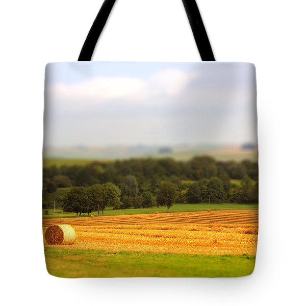 Miniature Countryside Tote Bag by Vicki Spindler
