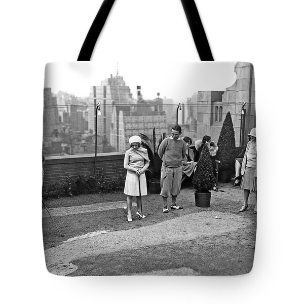 Miniature Golf In Ny City Tote Bag