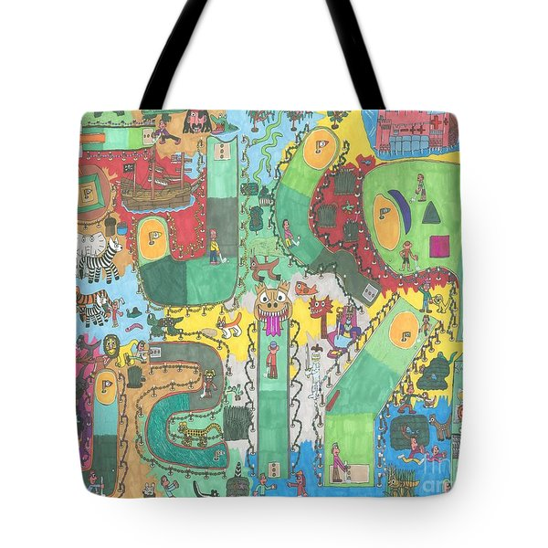 Miniature Golf Tote Bag