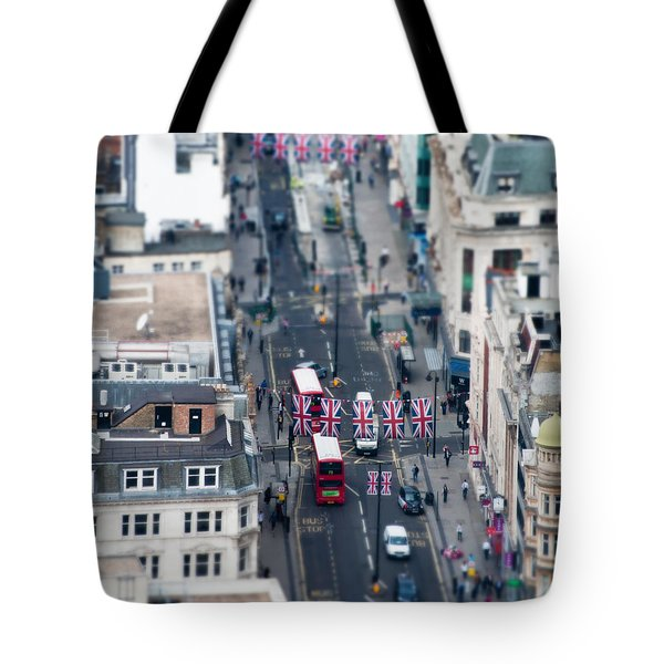 Miniature Oxford Street Tote Bag by Matt Malloy