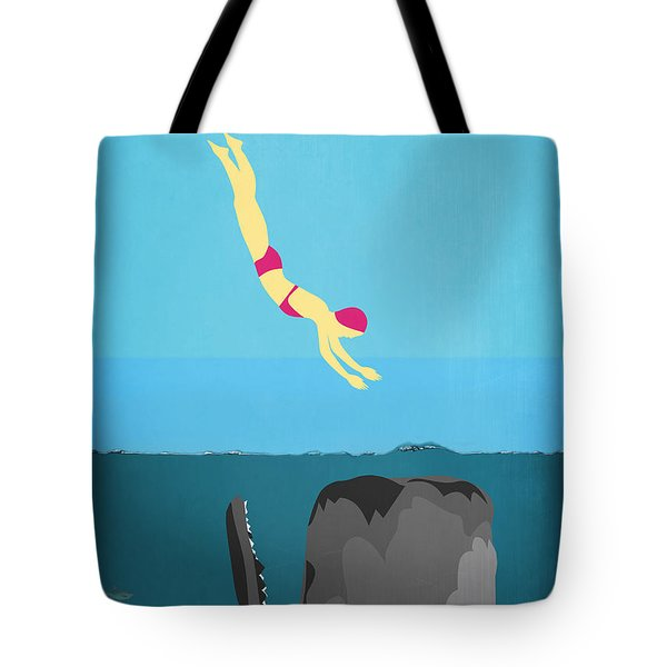 Minimal Sea Life  Tote Bag